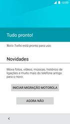 Motorola Moto Turbo - Primeiros passos - Como ativar seu aparelho - Etapa 14