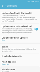 Samsung Galaxy S6 - Android M - Software updaten - Update installeren - Stap 5