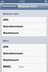 Apple iPhone 4 S met iOS 6 - Internet - handmatig instellen - Stap 7
