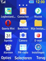 Samsung B550H Xcover 550 - Voicemail - handmatig instellen - Stap 3