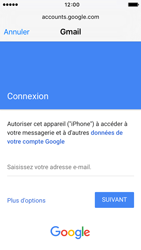 Apple iPhone SE - E-mail - Configuration manuelle (gmail) - Étape 6