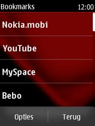 Nokia Asha 300 - Internet - Hoe te internetten - Stap 9