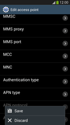 Samsung I9295 Galaxy S IV Active - Mms - Manual configuration - Step 16