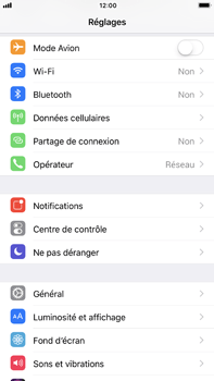Apple Apple iPhone 6s Plus iOS 11 - Wifi - configuration manuelle - Étape 2