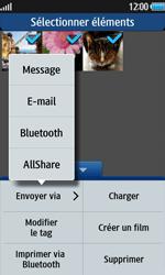 Samsung Wave 2 - Photos, vidéos, musique - Envoyer une photo via Bluetooth - Étape 8