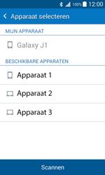 Samsung J100H Galaxy J1 - Contactgegevens overzetten - delen via Bluetooth - Stap 11
