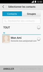 Huawei Ascend Y330 - E-mail - envoyer un e-mail - Étape 5