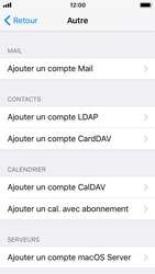Apple iPhone SE - iOS 11 - E-mail - Configuration manuelle - Étape 7