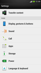 HTC Desire 601 - Voicemail - Manual configuration - Step 4