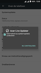 Acer Liquid Z6 Dual SIM - Netwerk - Software updates installeren - Stap 7