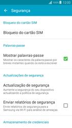 Samsung Galaxy Grand Prime - Segurança - Como ativar o código PIN do cartão de telemóvel -  5