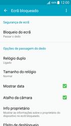 Samsung Galaxy A5 - Segurança - Como ativar o código de bloqueio do ecrã -  5