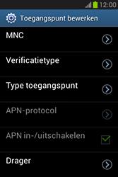 Samsung S6810P Galaxy Fame - Internet - handmatig instellen - Stap 14