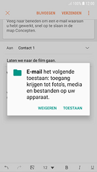 Samsung galaxy-s7-android-oreo - E-mail - Bericht met attachment versturen - Stap 12