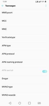 LG v40-thinq-lm-v405ebw - Internet - Handmatig instellen - Stap 13