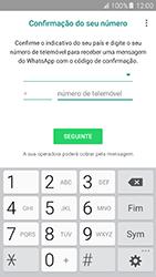 Samsung Galaxy A5 (2016) (A510F) - Aplicações - Como configurar o WhatsApp -  6