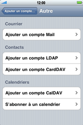 Apple iPhone 4 - E-mail - Configuration manuelle - Étape 6