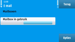 Nokia N97 - E-mail - e-mail instellen: POP3 - Stap 30