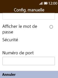 Nokia 8110 Banana - E-mail - Configuration manuelle - Étape 10