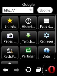 LG T385 - Internet et connexion - Naviguer sur internet - Étape 14