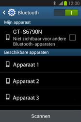 Samsung S6790 Galaxy Fame Lite - Bluetooth - Koppelen met ander apparaat - Stap 6