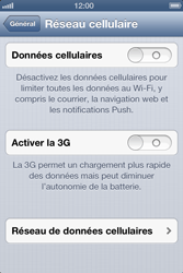 Apple iPhone 4 - iOS 6 - Internet - configuration manuelle - Étape 6