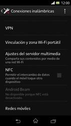 Sony Xperia L - Mensajería - Configurar el equipo para mensajes multimedia - Paso 5