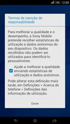 Sony Xperia E4 - Primeiros passos - Como ligar o telemóvel pela primeira vez -  13