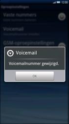 Sony Ericsson Xperia X10 - Voicemail - handmatig instellen - Stap 7
