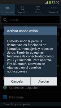 Samsung Galaxy Note 3 - Funciones básicas - Activar o desactivar el modo avión - Paso 5