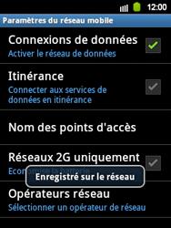 Samsung S5360 Galaxy Y - Réseau - utilisation à l'étranger - Étape 13