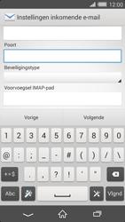 Sony D6503 Xperia Z2 - E-mail - Account instellen (IMAP zonder SMTP-verificatie) - Stap 10