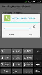 Alcatel OneTouch PIXI 3 (4.5) 3G (OT-4027X) - Voicemail - Handmatig instellen - Stap 9