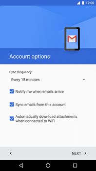 Huawei Google Nexus 6P - Email - Manual configuration - Step 23