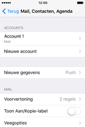 Apple iPhone 4S iOS 9 - E-mail - handmatig instellen - Stap 16