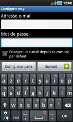 Samsung I9000 Galaxy S - E-mail - Configuration manuelle - Étape 5