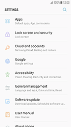 Samsung J330F Galaxy J3 (2017) - Device maintenance - Create a backup of your data - Step 4