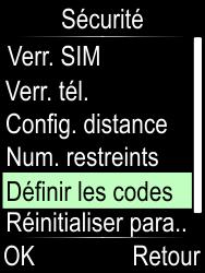 Doro Phone Easy 612 - Sécuriser votre mobile - Personnaliser le code PIN de votre carte SIM - Étape 5