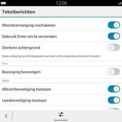 BlackBerry Passport - SMS - Handmatig instellen - Stap 7