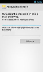 Acer Liquid Glow E330 - E-mail - Handmatig instellen - Stap 15