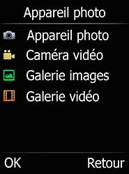 Doro 6520 - Photos, vidéos, musique - Créer une vidéo - Étape 4