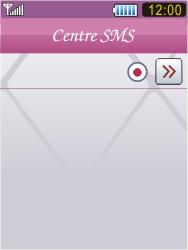 Samsung S7070 Diva - SMS - Configuration manuelle - Étape 10