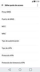 LG G5 - Internet - Configurar Internet - Paso 12