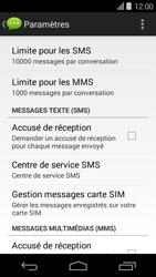 Acer Liquid E600 - SMS - Configuration manuelle - Étape 6