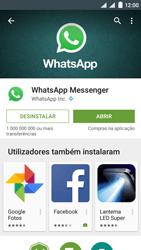 NOS SLIM - Aplicações - Como configurar o WhatsApp -  7