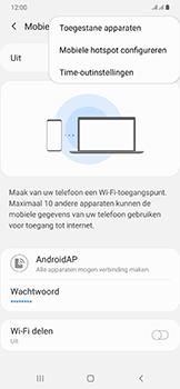 Samsung Galaxy A50 - Internet - mijn data verbinding delen - Stap 8