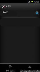 Sony Xperia J - Mensajería - Configurar el equipo para mensajes multimedia - Paso 8