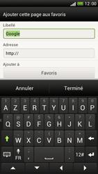 HTC One S - Internet et connexion - Naviguer sur internet - Étape 9