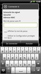 HTC X515m EVO 3D - Wifi - configuration manuelle - Étape 6