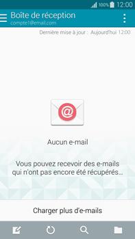 Samsung N910F Galaxy Note 4 - E-mail - Configurer l
